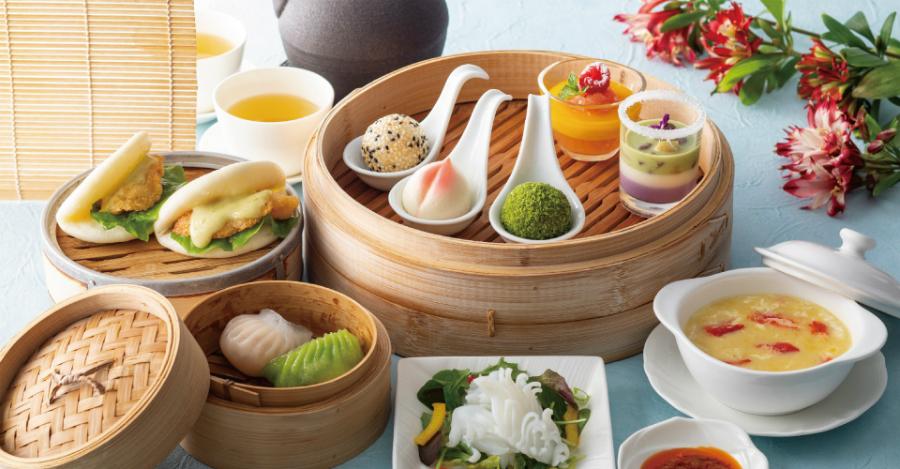 はらぺこニュース|中華風の抹茶アフタヌーンティーセットがストリングスホテル東京「チャイナシャドー」に登場!