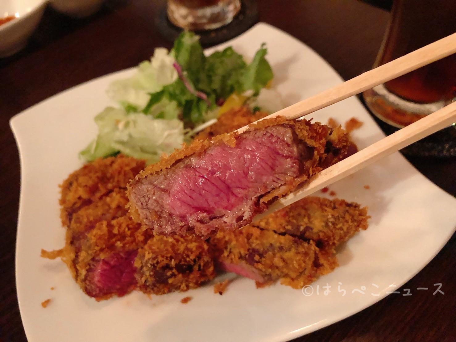 はらぺこニュース|【実食レポ】1290円で牛カツ食べ放題!新宿「肉バル×イタリアン クロスカーサ」