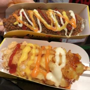 【実食レポ】超のびるチーズ!新大久保「アリランホットドッグ」が大ブーム!