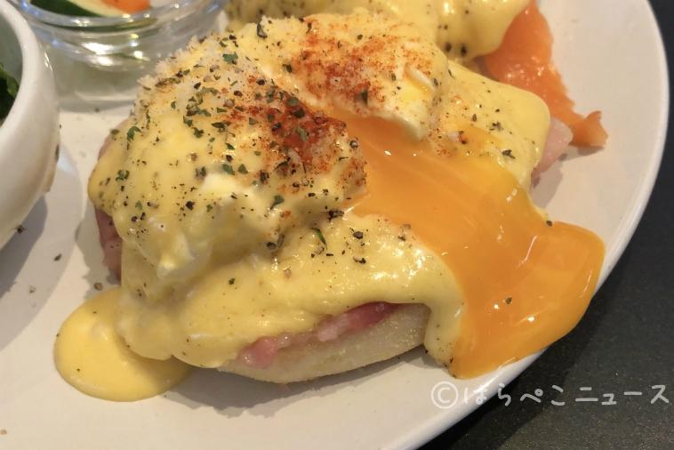 はらぺこニュース|【実食レポ】土日祝限定のエッグベネディクト!千鳥町「ザ・リビング」でとろ~り卵の絶品メニュー!