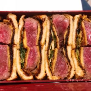 【実食レポ】黒毛和牛レアカツサンド!京都「肉匠 益市 GION」のお土産限定1日5食のメニュー!