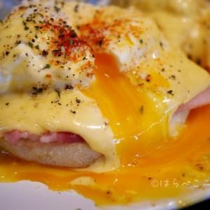【実食レポ】土日祝限定のエッグベネディクト!千鳥町「ザ・リビング」でとろ~り卵の絶品メニュー!