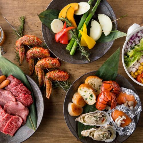 はらぺこニュース|ヒルトン東京お台場にバーベキューテラス「アブレイズ」 がオープン!牡蠣や串刺し肉にオマール海老も!