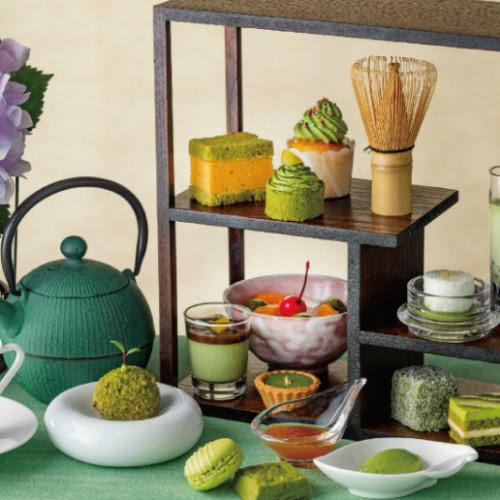 はらぺこニュース|ストリングスホテル東京で「抹茶づくしのアフタヌーンティー」が6月から期間限定開催!抹茶の玉子サンドも!