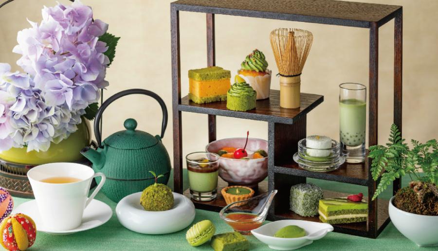 はらぺこニュース ストリングスホテル東京で「抹茶づくしのアフタヌーンティー」が6月から期間限定開催!抹茶の玉子サンドも!