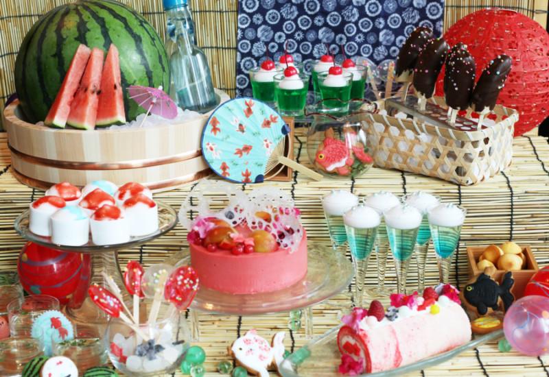 はらぺこニュース|まるで縁日!『日本橋 おとななつまつりランチブッフェ』 XEX日本橋で大人の夏祭り!