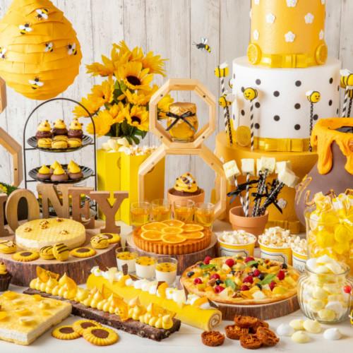 はらぺこニュース|ハチミツ&チーズランチブッフェ「ホテルでハニーハント」で7種の蜂蜜食べ比べ!ストリングスホテル東京
