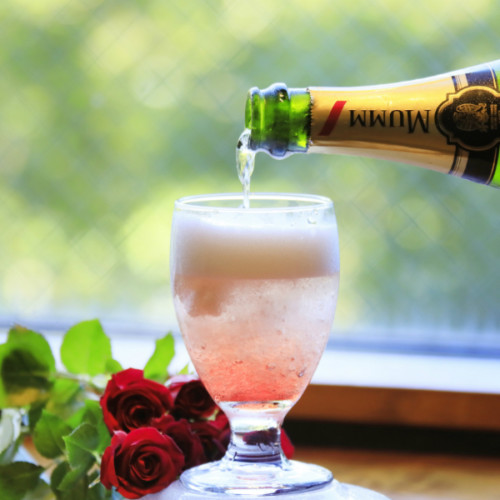 はらぺこニュース|シャンパン入りの大人のかき氷!大人の隠れ家「箱根別邸今宵」の夏季限定ウェルカムサービス!