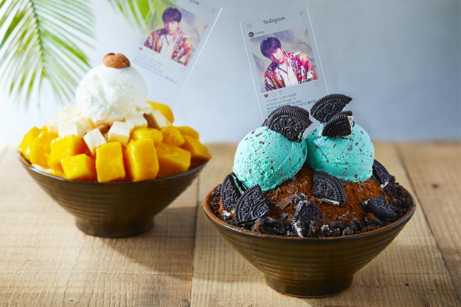 「チョコミントソルビン」が日本限定販売!FTISLANDメンバーカードのノベルティ付き!