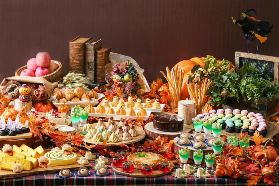 はらぺこニュース|オズの魔法使いを題材にした「ハロウィン・マルシェデザートブッフェ」がサーウィンストンホテルで開催!