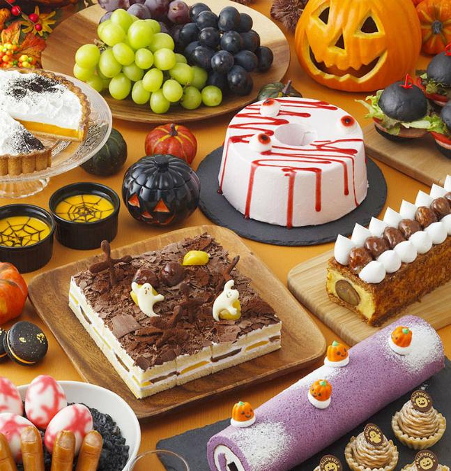 はらぺこニュース|ホテルニューオータニ幕張で栗とぶどうのハロウィンビュッフェ開催!オリジナルハロウィンパフェも!