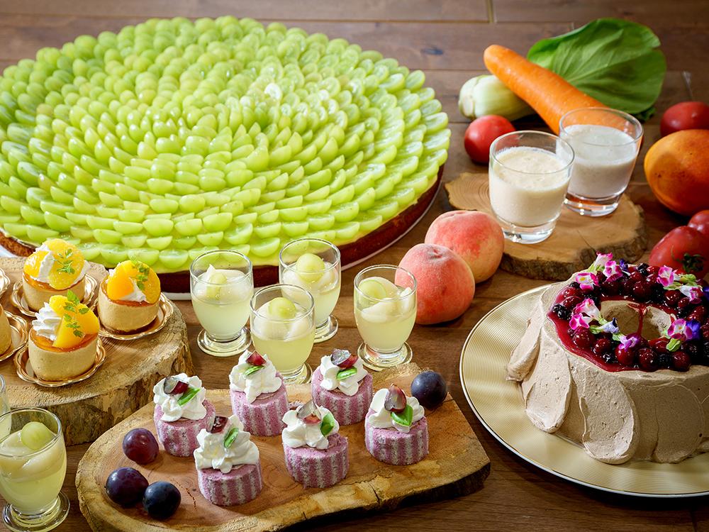 はらぺこニュース|軽井沢プリンスホテルで「ランチ&スイーツブッフェ」開催中!野菜とフルーツを使用したデザートがズラリ!