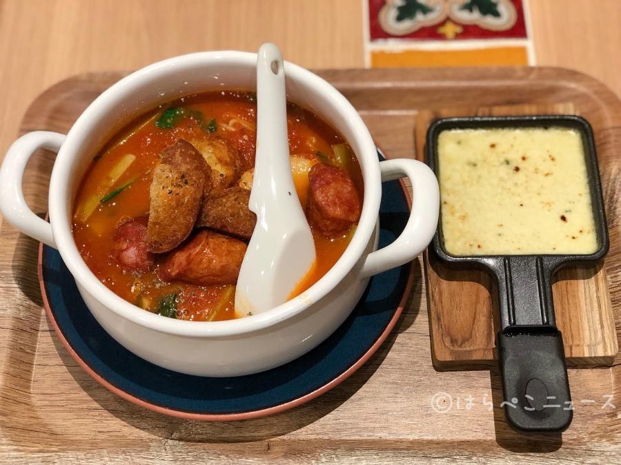はらぺこニュース|【実食レポ】ラクレットを自ら注ぐ!新宿「太陽のトマト麺withチーズ」プレミアムチーズラーメン