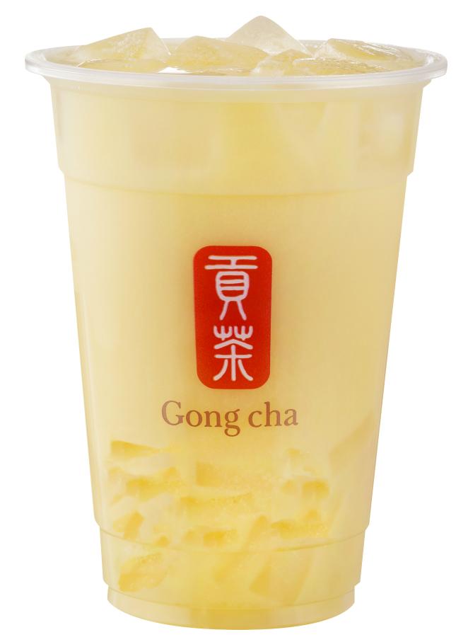 はらぺこニュース 「ゴンチャ」新商品『ライチ ミルクティー(ナタデココ トッピング)』と『タロ スムージー(パール トッピング)』
