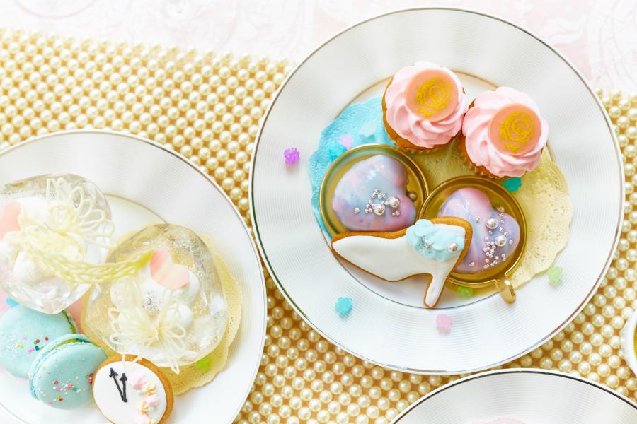 はらぺこニュース|ヴィーノボーノで『シンデレラのアフタヌーンティー』開催!ホワイトチョコのプリンセス・ティアラも!