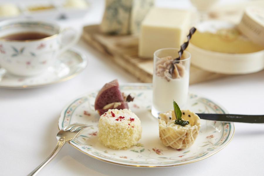 8種のチーズ使用!「フロマージュ アフタヌーンティー」ホテル椿山荘東京