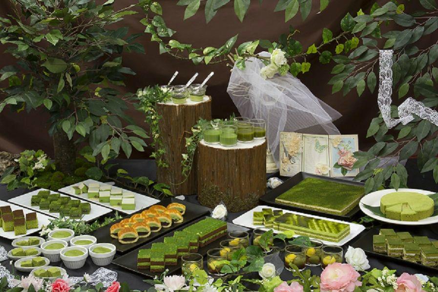 眠り姫の森で抹茶スイーツバイキング!ホテル京阪 京橋 グランデ『Sleeping of Forest Teaparty ~眠れる森のお茶会』