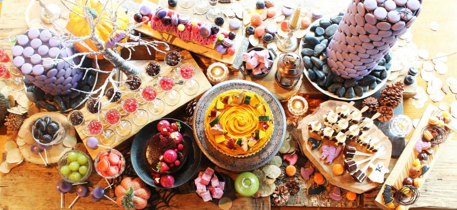 XEX 日本橋が初の試み!秋デザート・ハロウィン・チョコレートと3か月連続毎月テーマを変えデザートブッフェ開催!