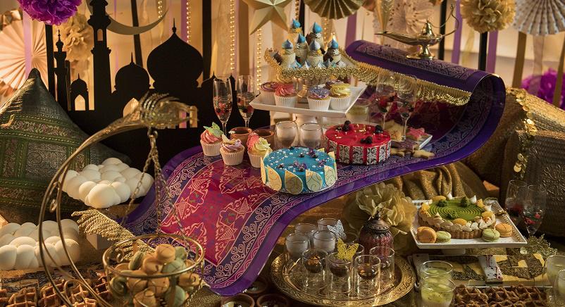 ヒルトン大阪「デザートビュッフェ〜魔法の絨毯にのって~」アラビアンナイトのようなファンタジーの世界へ!