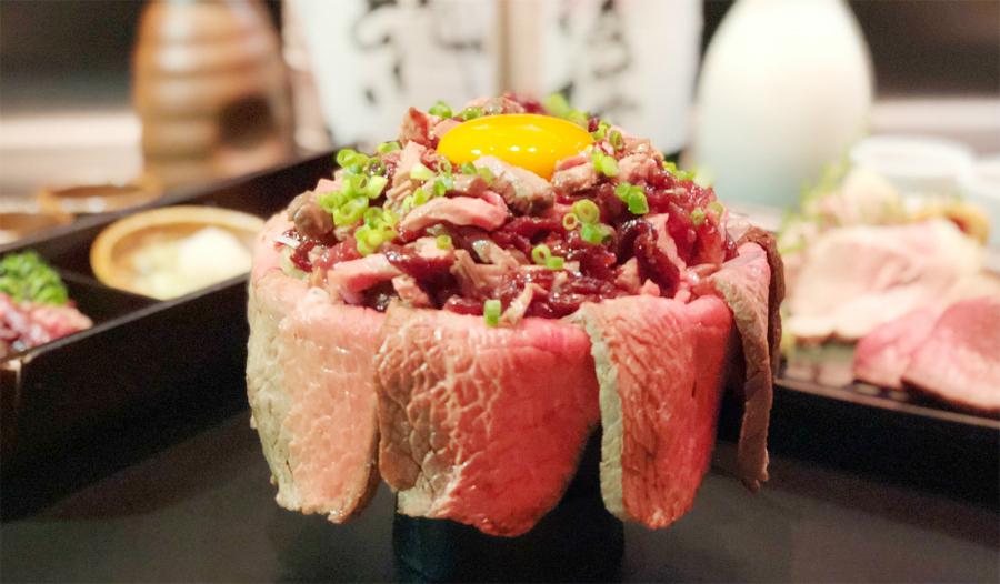 ロースト肉盛食べ放題と肉ざんまい飯が付いた飲み放題コースが3680円!竹庭ともり 浜松町・大門店で9月5日スタート