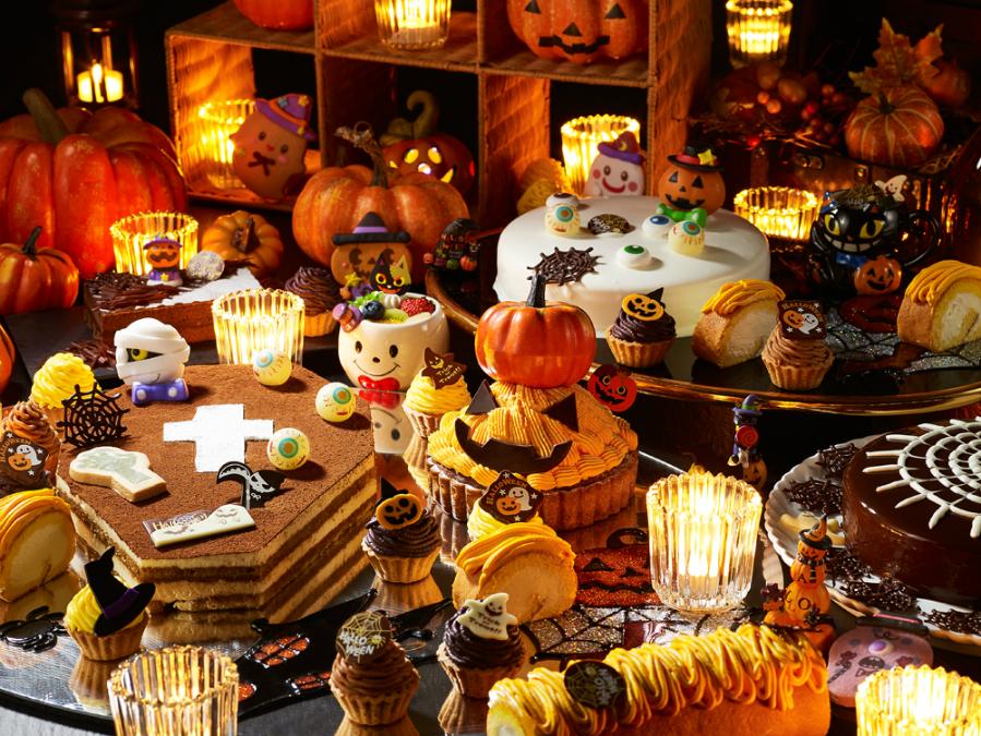 「秋の味覚満載ハロウィンデザートブッフェ」浦和ロイヤルパインズホテル