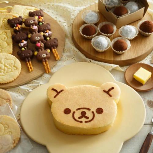 リラックマ × 貝印の製菓シリーズ!デコスティックチョコ型や型を押すだけのクッキースタンプが登場!