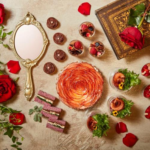 美女と野獣がテーマ!「ザ・リッツ・カールトン大阪」のチョコレートアフタヌーンブッフェ!