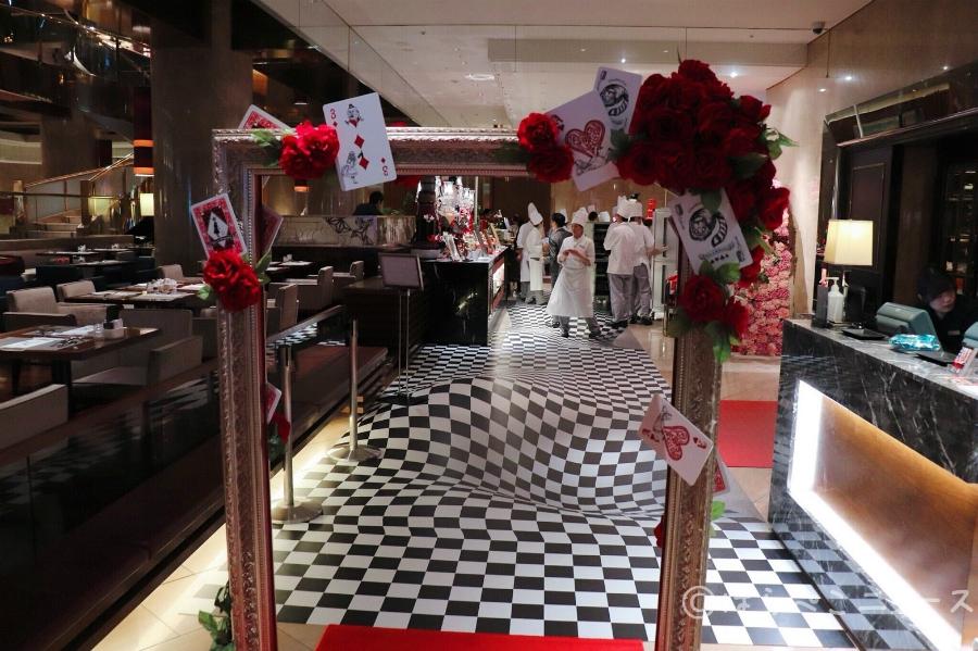 【潜入レポ】ヒルトン東京「アリスinハロウィーン・トリック」ビュッフェの楽しみ方!双子メニューを食べ比べ!