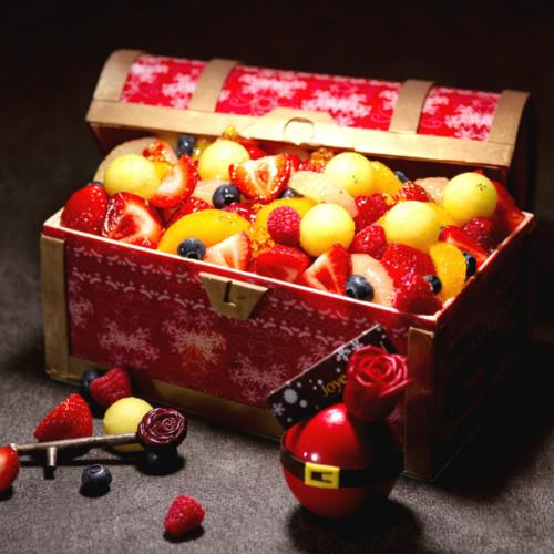 宝箱型のクリスマスケーキやチョコレート!グランドプリンスホテル新高輪の限定スイーツ