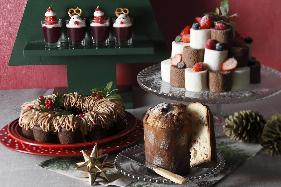京都タワーホテルでチョコとベリーのクリスマスブッフェ「Chocolate×Berry Sweets Buffet~Christmas~」