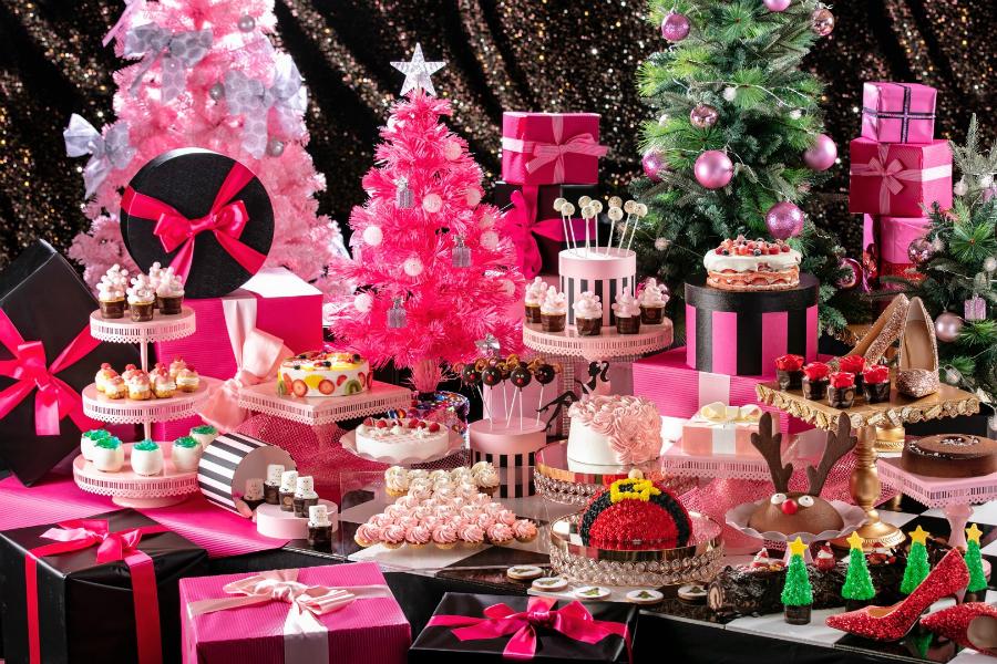 ヒルトン東京お台場でクリスマスデザートビュッフェ「ガールズ・スイーツコフレ」開催!