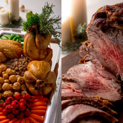 ホテルニューオータニ大阪「クリスマスファミリービュッフェ」ローストビーフやビーフステーキで肉三昧!