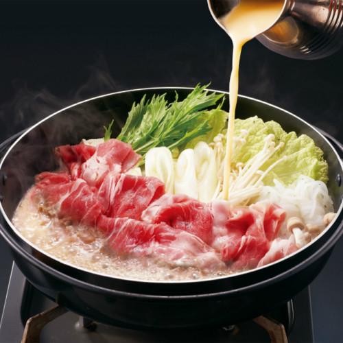 和食さとで「白いすき焼き」食べ放題!白味噌仕立て&特製割り下でブラックアンガス牛を堪能!