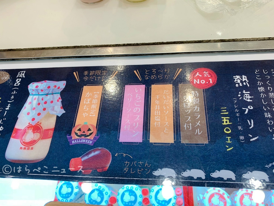 【実食レポ】行列のできる「熱海プリン」が西船橋に!秋限定のかぼちゃや「風呂まーじゅプリン」も!