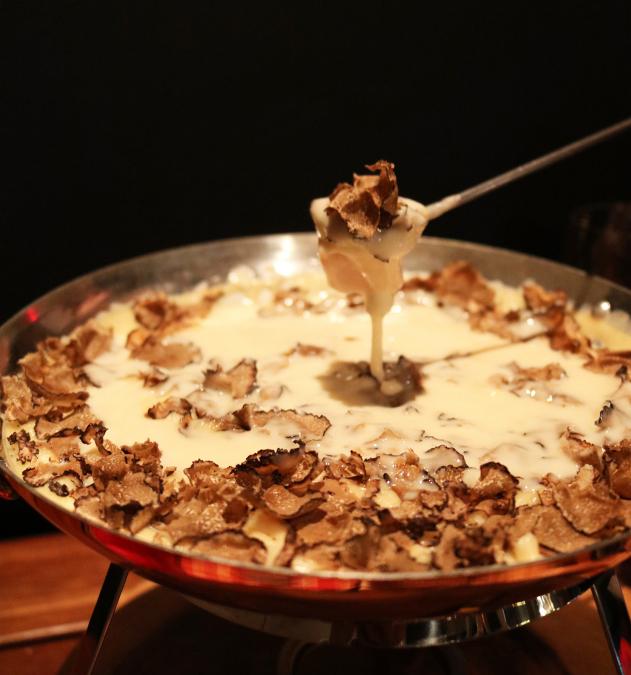 削りたてトリュフのチーズフォンデュ食べ放題!「goodspoon(グッドスプーン)みなとみらい店」