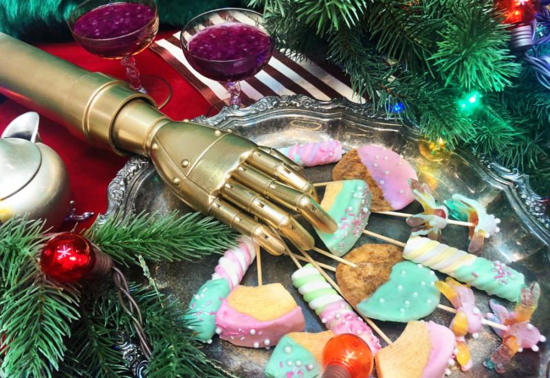 ロボット親方が店主【ギャラクシーおでん屋台】阪急百貨店うめだ本店「未来のハートウォーミングクリスマス」