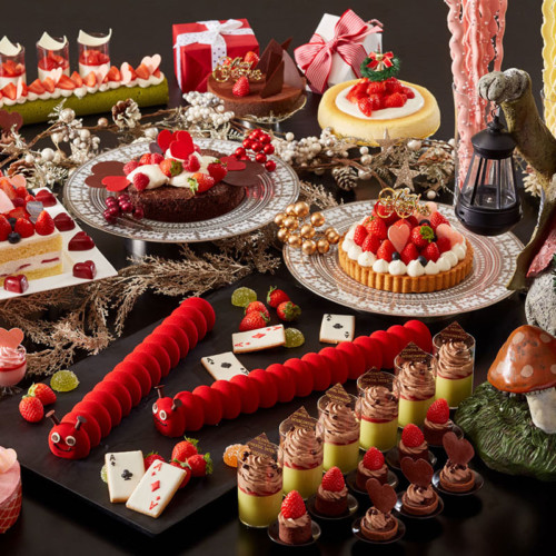 アリスのスイートティーパーティー クリスマスデザート&ランチブッフェ「ホテル インターコンチネンタル 東京ベイ」