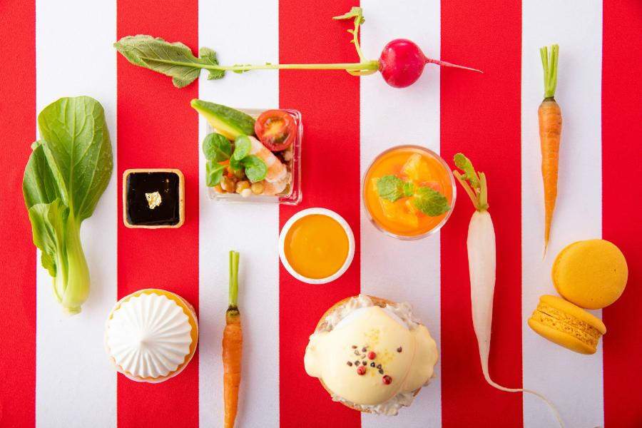 野菜とマヨネーズのアフタヌーンティー!?「ストリングスホテル東京インターコンチネンタル」