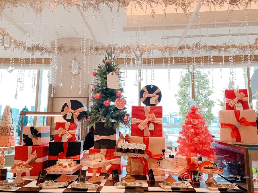 【潜入レポ】ガールズ・スイーツコフレ~クリスマスデザートビュッフェ~「ヒルトン東京お台場」