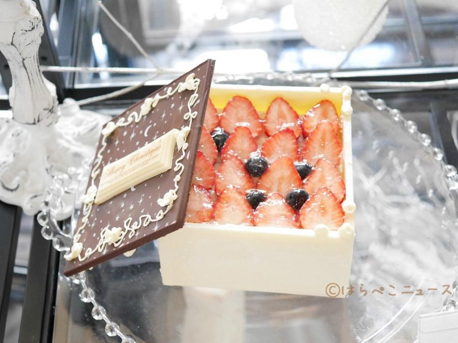 【試食レポ】エキュート『クリスマスケーキ2018』サプライズ・苺・チョコレートがテーマ!全9館で160種登場