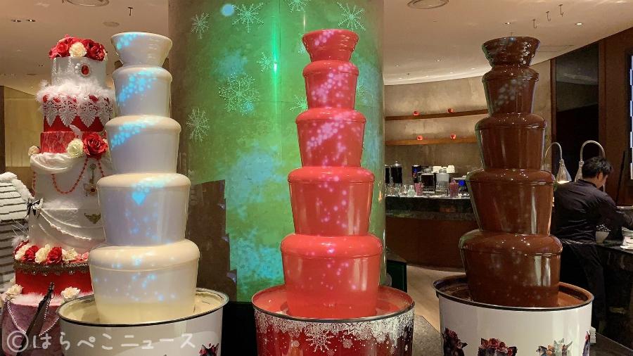 【潜入レポ】マジカルチョコレートファウンテンが凄い!「マーブルラウンジ」アリスinクリスマスマジック