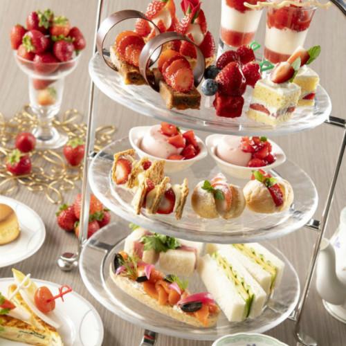 浦安ブライトンホテル東京ベイ【苺づくしのアフタヌーンティー】平日10食限定8種の苺スイーツが堪能できるプラン!