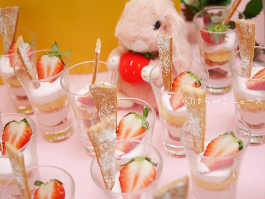 【潜入レポ】ヒルトン東京ベイのいちごビュッフェ!ゆめかわ遊園地で苺の観覧車やメリーゴーランドのスイーツ