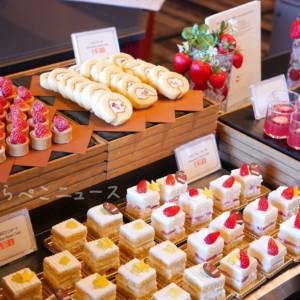 【実食レポ】ホテルニューオータニ東京でいちごスイーツビュッフェ!あまおうとサンドウィッチを食べ放題!