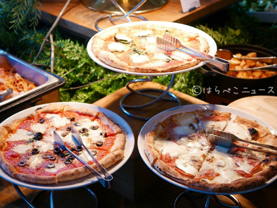 【潜入レポ】ゼックス日本橋 いちごビュッフェ「#都会のいちご畑」ストロベリーブッフェとピザ・パスタなど本格イタリアンを堪能!