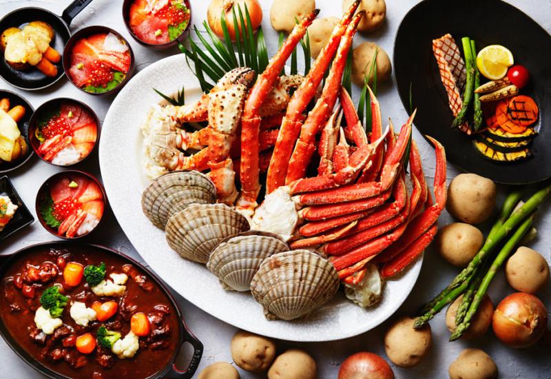 【北海道フェア&北海道ビュッフェまとめ】カニやいくらを食べ放題!人気ホテルのお得なブッフェ予約プラン