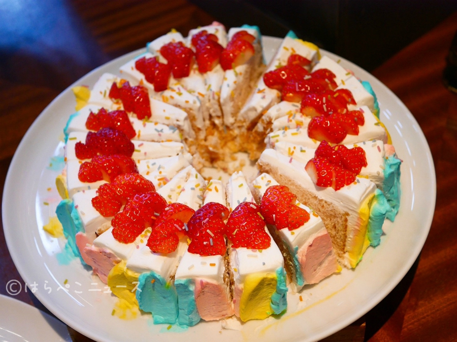【潜入レポ】琵琶湖ホテルでアクアリウム(水族館)風いちごビュッフェ!苺使用のピザや軽食が絶品!