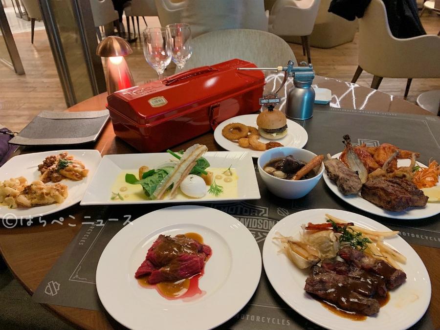 【潜入レポ】ハーレーダビッドソン 肉ビュッフェ!ヒルトン東京お台場の日曜限定ディナーで肉料理食べ放題!