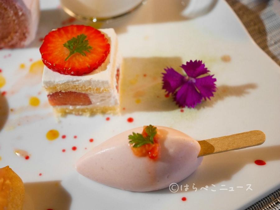 【潜入レポ】ANAクラウンプラザホテル大阪のいちごビュッフェ!新品種「いちごさん」のスイーツも登場!