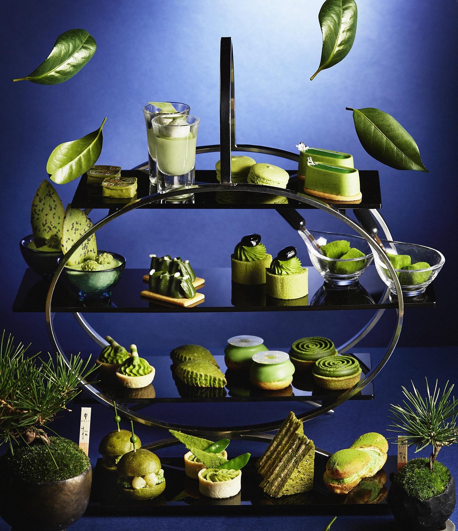 【抹茶コレクション】ANAインターコンチネンタルホテル東京で抹茶スイーツブッフェやアフタヌーンティー